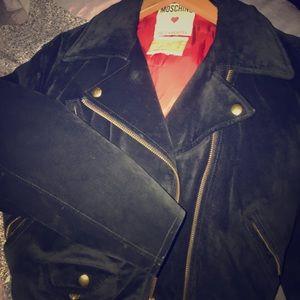 Vintage Moschino Suede jacket